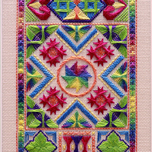 111: Carnival Capers Embroidery