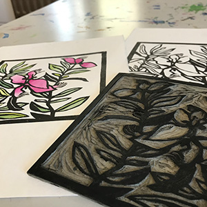 402: From Linocut to Print